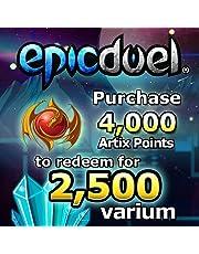 2,500 Varium Package: EpicDuel [Instant Access]
