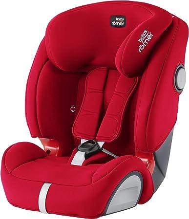 Oferta amazon: Britax Römer Silla de coche 9 meses - 12 años, 9 - 36 kg, EVOLVA 1-2-3 SL SICT, ISOFIX, Grupo 1/2/3, Fire Red
