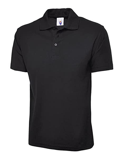 ec8e2d58543 Uneek 220Gsm Unisex Classic Polo Shirt  Amazon.co.uk  Clothing