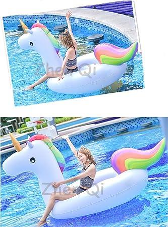 Zhen Qi Giant Unicornio Hinchable Piscina Pool Float Inflable ...