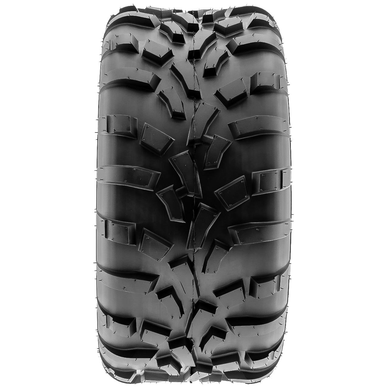 Pair of 2 SunF 25x11-12 AT-XC ATV/UTV Off-Road Tires , 6PR , Directional Knobby Tread | A010 by SunF (Image #7)