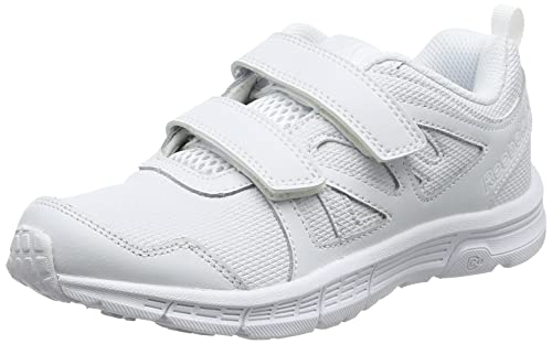 Reebok Run Supreme 2.0 2V, Zapatillas de Running para Niños, Blanco (White/Steel), 32 EU: Amazon.es: Zapatos y complementos