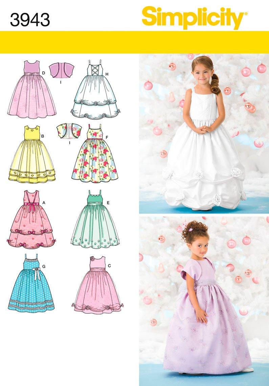 Simplicity 3943 - Patrones de costura para vestidos de fiesta para ...
