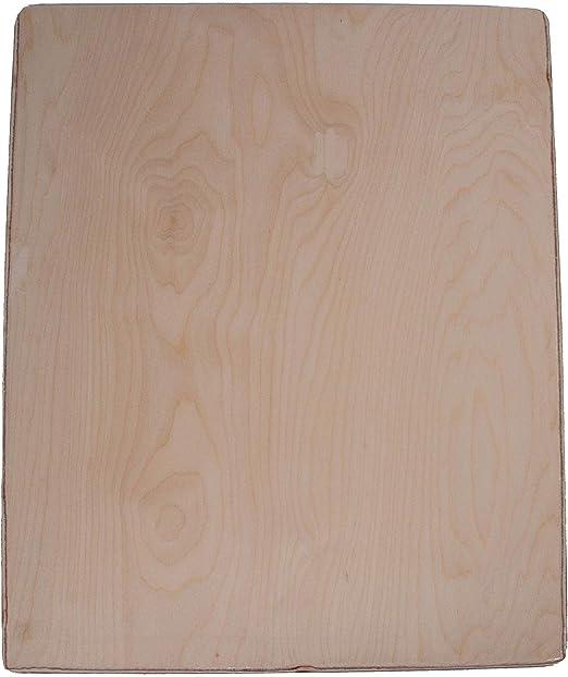 29L x 10W Blade Mr Peel Rectangular Wood Pizza Peel with 6 1//2L Handle