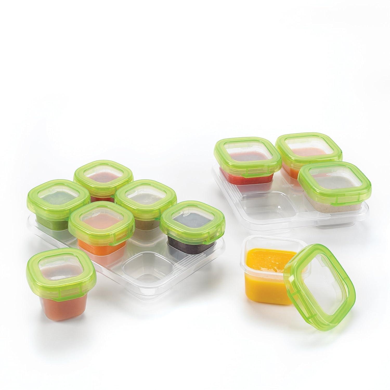 Amazoncom OXO Tot 12 Piece Baby Blocks Set Baby Food Storage