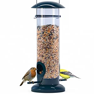 Nibble Weather Proof Anti-Bacterial Bird Feeder with UV Sun-proof