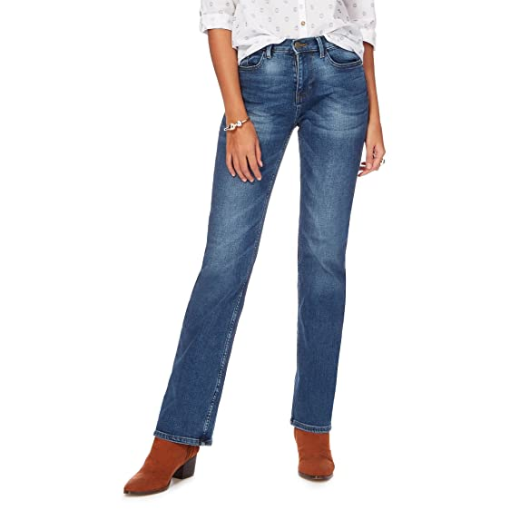 Mantaray blue washed bootcut jeans