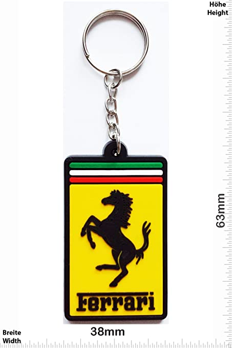 Llaveros - Keychains - Ferrari -rectangle - Car - sports car ...
