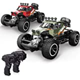 X TOYZ RC Cars 2 PCS Remote Control Off Road Monster Trucks Cars for Kids, 1:20 Scale Metal Shell Alloy RC Car, High Speed Ra