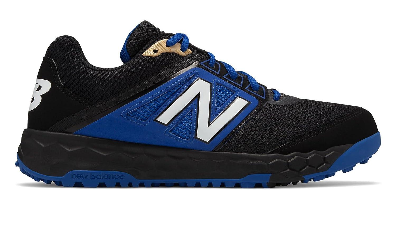 New Balance Men's 3000v4 Turf Baseball Shoe B075R7NV49 5.5 2E US Black/Blue
