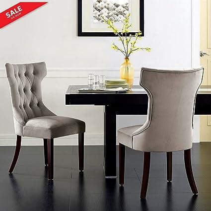 Wondrous Amazon Com Velvet Accent Chair Upholstered High Back Creativecarmelina Interior Chair Design Creativecarmelinacom
