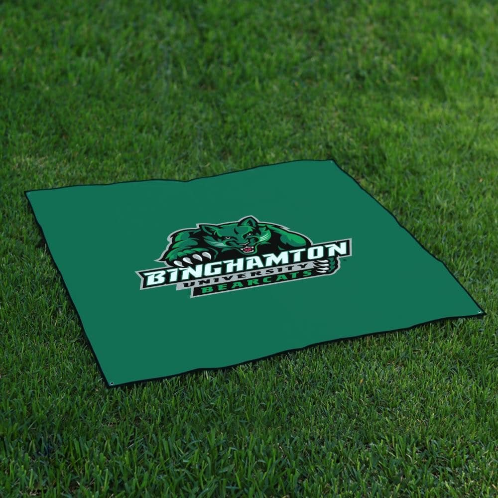 Binghamton Suny BearcatsテールゲートBlanket Legacy B0711HPLY7