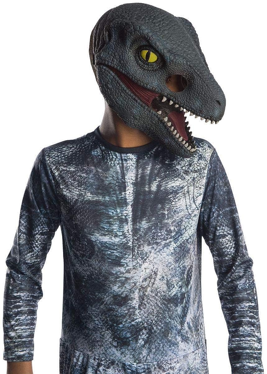 Jurassic World: Fallen Kingdom Blue Velociraptor 3/4 Child Costume Mask Rubies