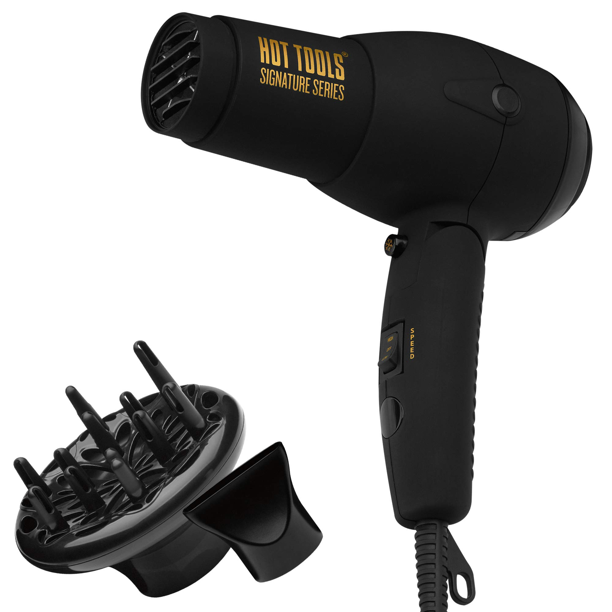 HOT TOOLS Signature Series 1875W Ionic Travel Hair Dryer by HOT TOOLS