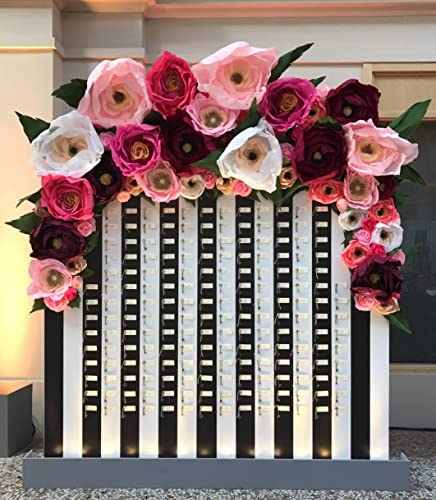 Amazon Giant Paper Flower Wall Display Garden Party Decor
