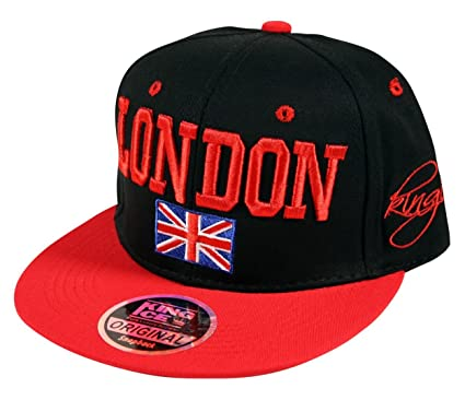 new zealand boy london snapback black white 2c850 12913  hot unisex 2 tone  london union jack flag snapback flat peak baseball cap hat in black 19a7408ff9fd