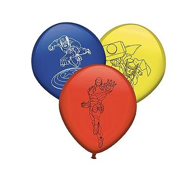 En Avengers Latex Bien Generique Ballons 8 c4qjL3A5R