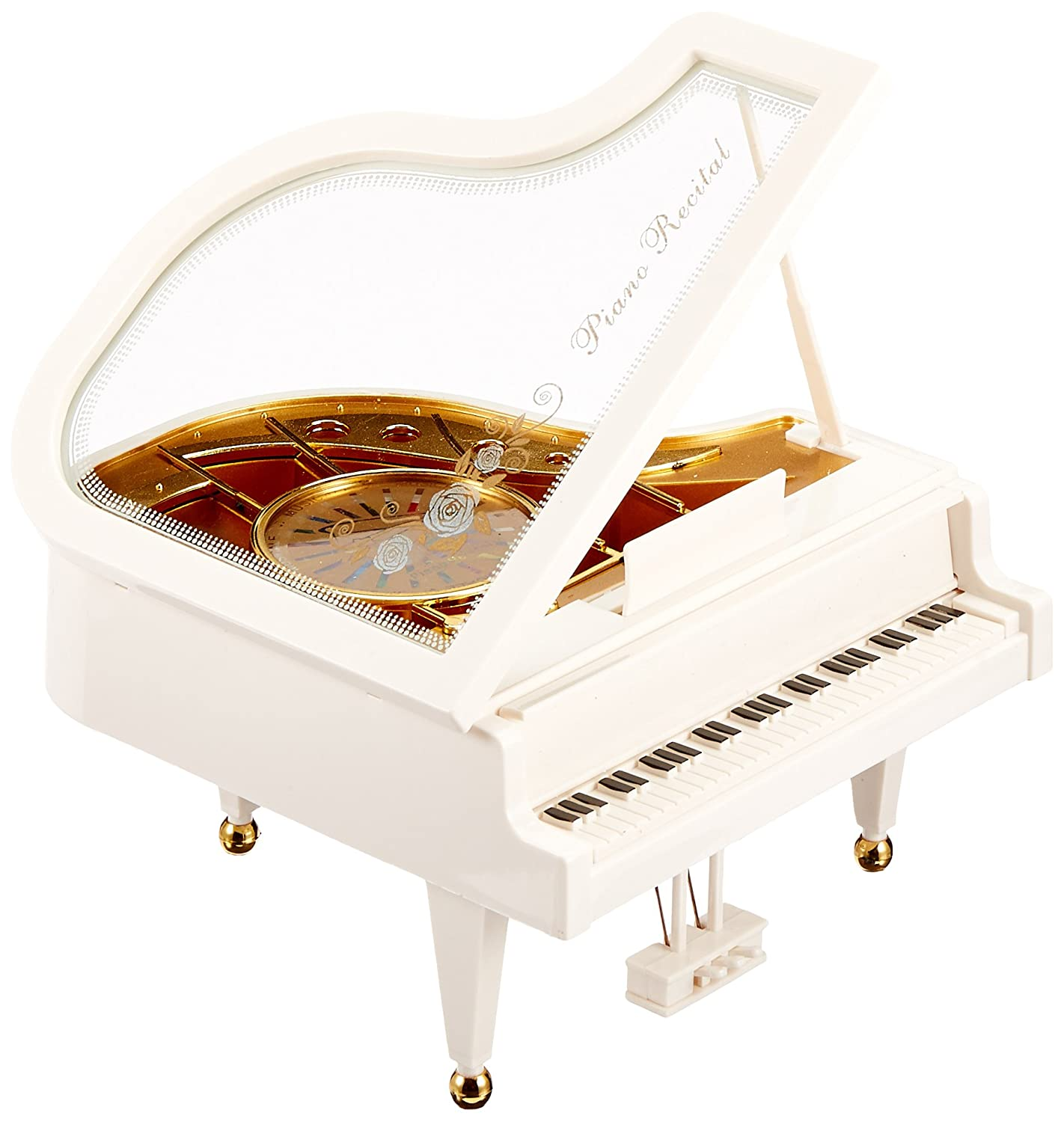 MusicBox Kingdom Musical Grand Piano Decorative Box 43265