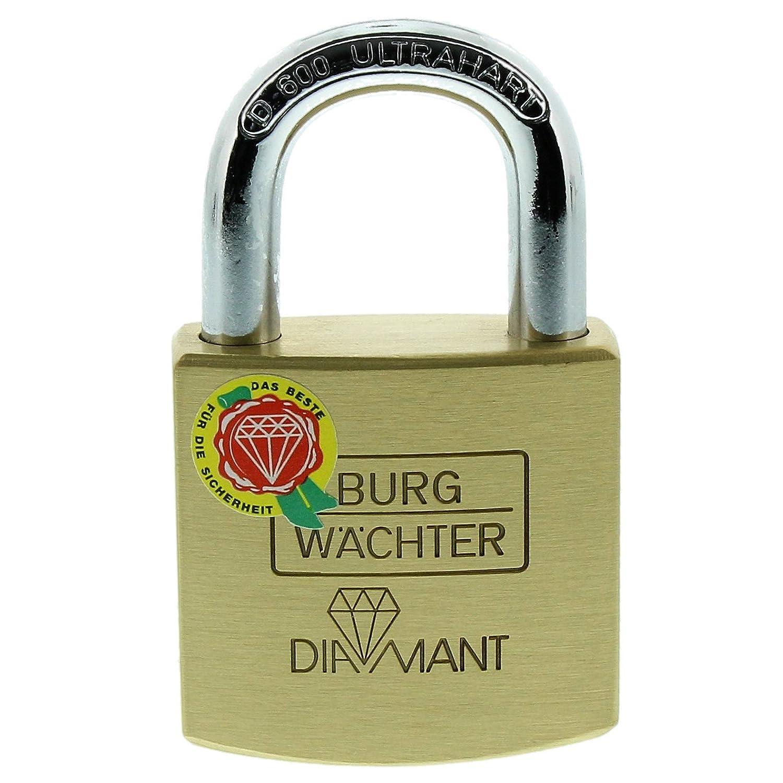 Burg-Wächter Diamant D 600 40 SB Candado Arco 7 mm, 40mm: Amazon.es: Bricolaje y herramientas