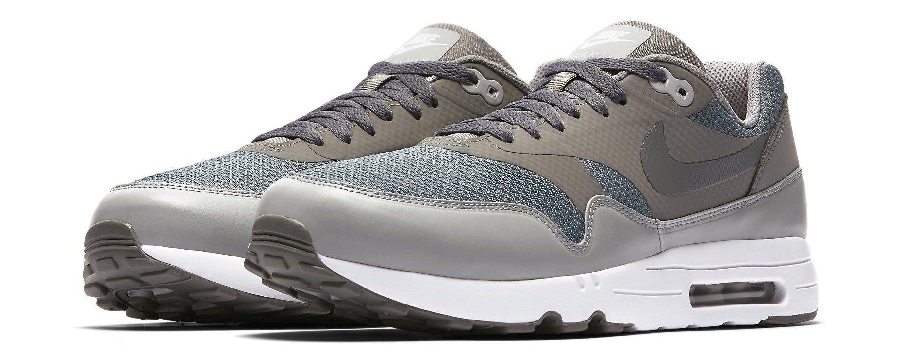 Nike Men's Air Max 1 Ultra 2.0 Se Dark Grey Wolf Low Top Walking Shoe 11M