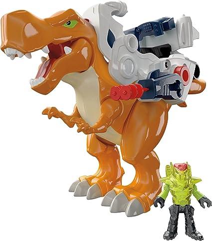 Amazon Com Fisher Price Imaginext Dinosaurios Deluxe T Rex Toys Games Dinosaurio imaginext esqueleto isla de. fisher price imaginext dinosaurios deluxe t rex