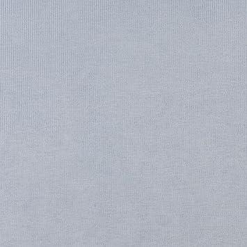 Amazon Com Sky Blue Solid Stripe Texture Plush Velvet Upholstery