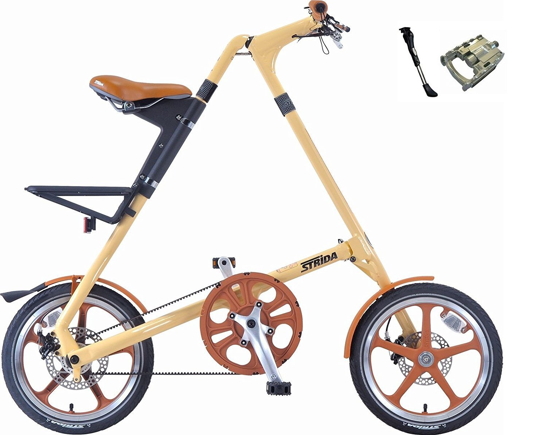 STRIDA(ストライダ) STRiDA LT【ストライダ LT】 16インチ 折り畳み自転車 キックスタンド、折り畳みペダル仕様 B071PD4M9M クリーム クリーム