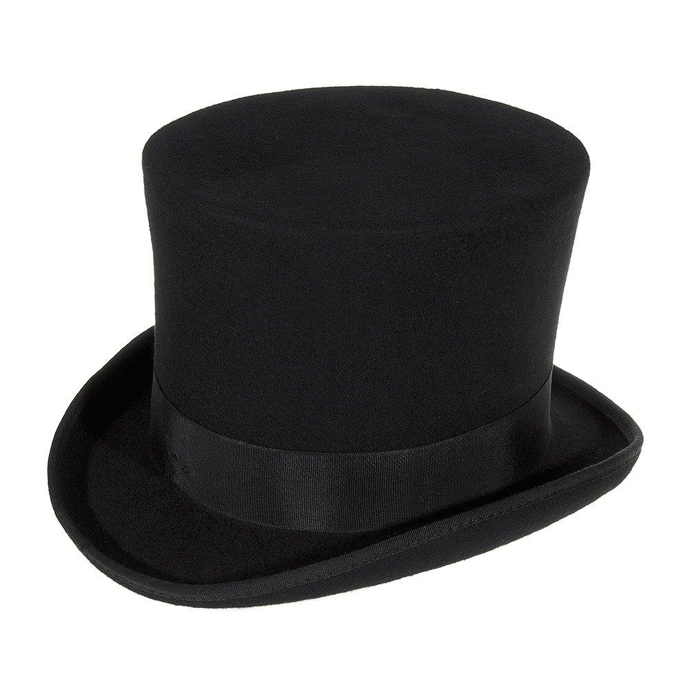 Major Wear Cappello Cilindro Alto Large Nero
