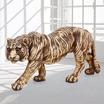 Amazoncom AapnoCraft Beautiful Large Tiger Statue Marble Stone