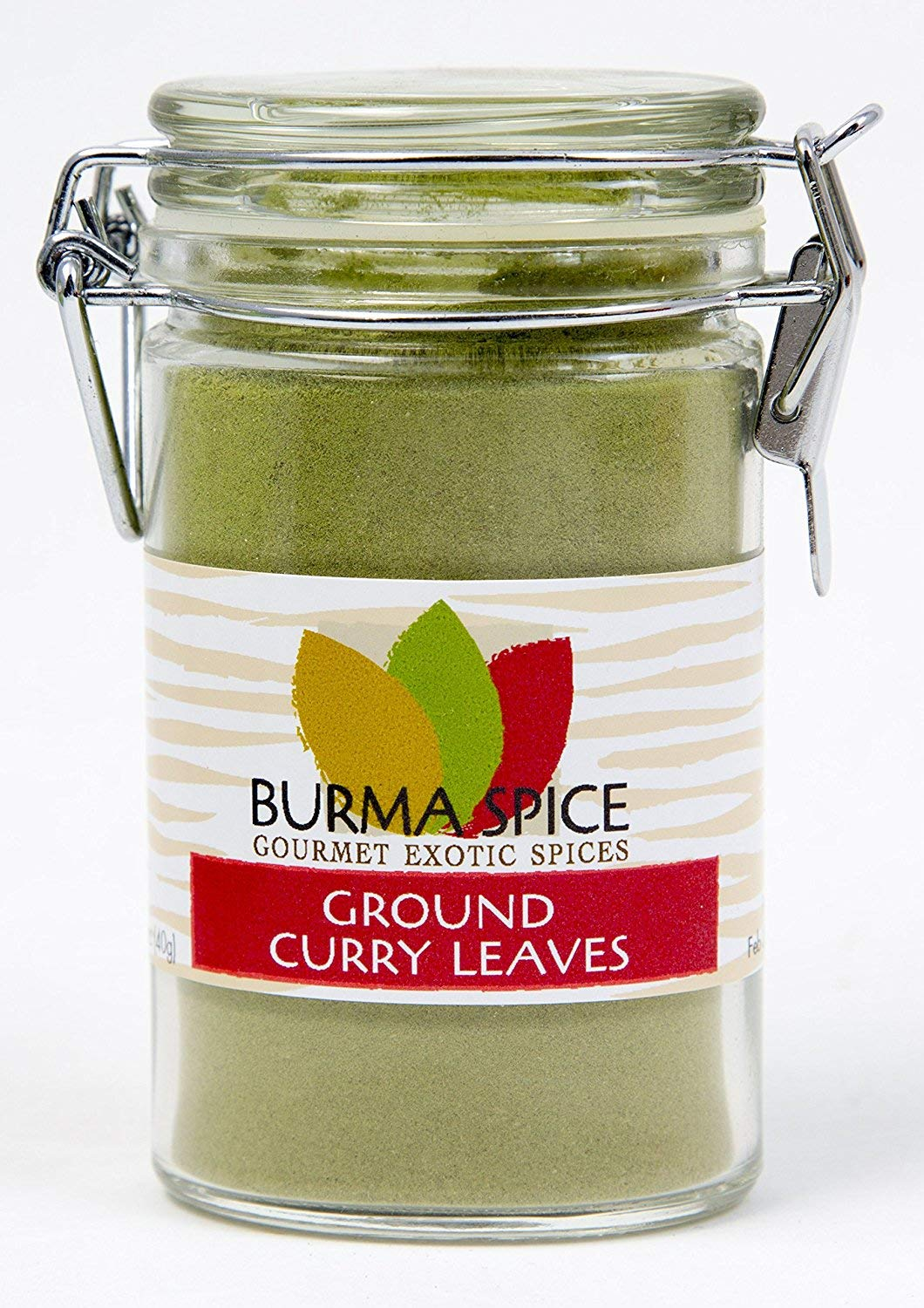 Ground Curry Leaves, Powder : Indian spice also used in Ayurvedic medicine (1.4oz.)
