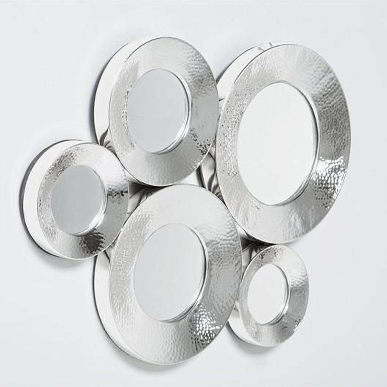 Kare Miroir Circoloco Silver 46 x 62