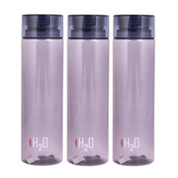42a8b44e4a Image Unavailable. Image not available for. Colour: Cello H2O Unbreakable Water  Bottle ...