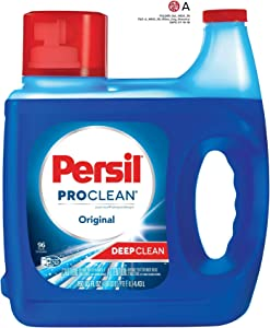Persil ProClean Liquid Laundry Detergent, Original, 150 Fluid Ounces, 96 Loads