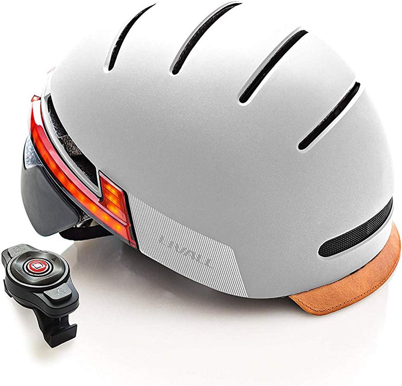 LIVALL BH51T: casco de bicicleta inteligente, luz trasera, intermitentes y sistema SOS (55-61 cm)
