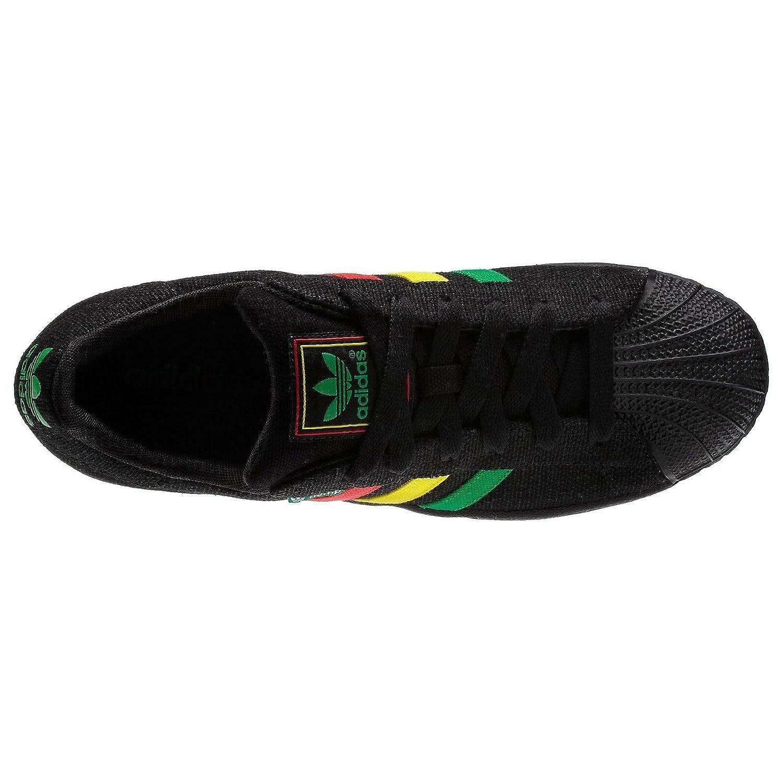 Adidas Superstar II Hemp Rasta Sneakers