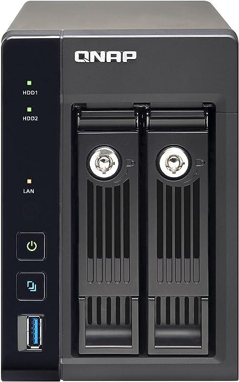 Qnap TS-253 Pro - Servidor de Almacenamiento NAS (Velocidad de Lectura 224 Mbps/Escritura 222 Mbps): Amazon.es: Informática