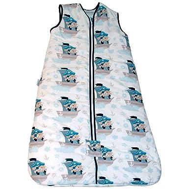 Bebelindo Pekebaby Saco de Dormir bebé BUCANERO 1.0 TOG: Amazon.es: Ropa y accesorios