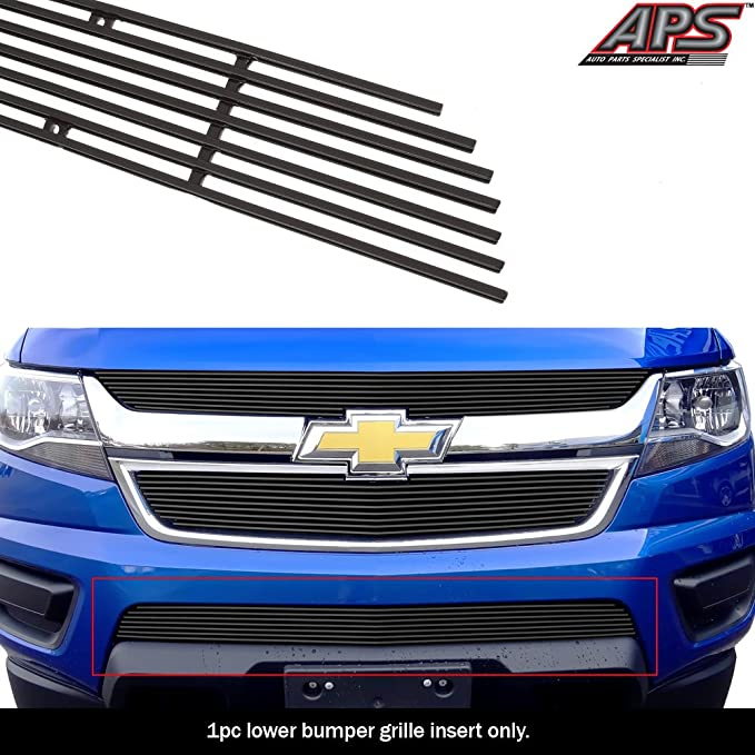 AAL For 04-05 06 07 08 09 10 Chevy Colorado Extreme Bumper Billet Grille Inserts