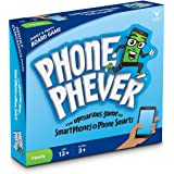 Phone Phever Board Game -- Best New Fun Fast-Paced Family-Friendly Party Board Game -- It's a Phonetastic Race to Answer Fascinating Trivia Questions and Complete Hilarious Challenges!