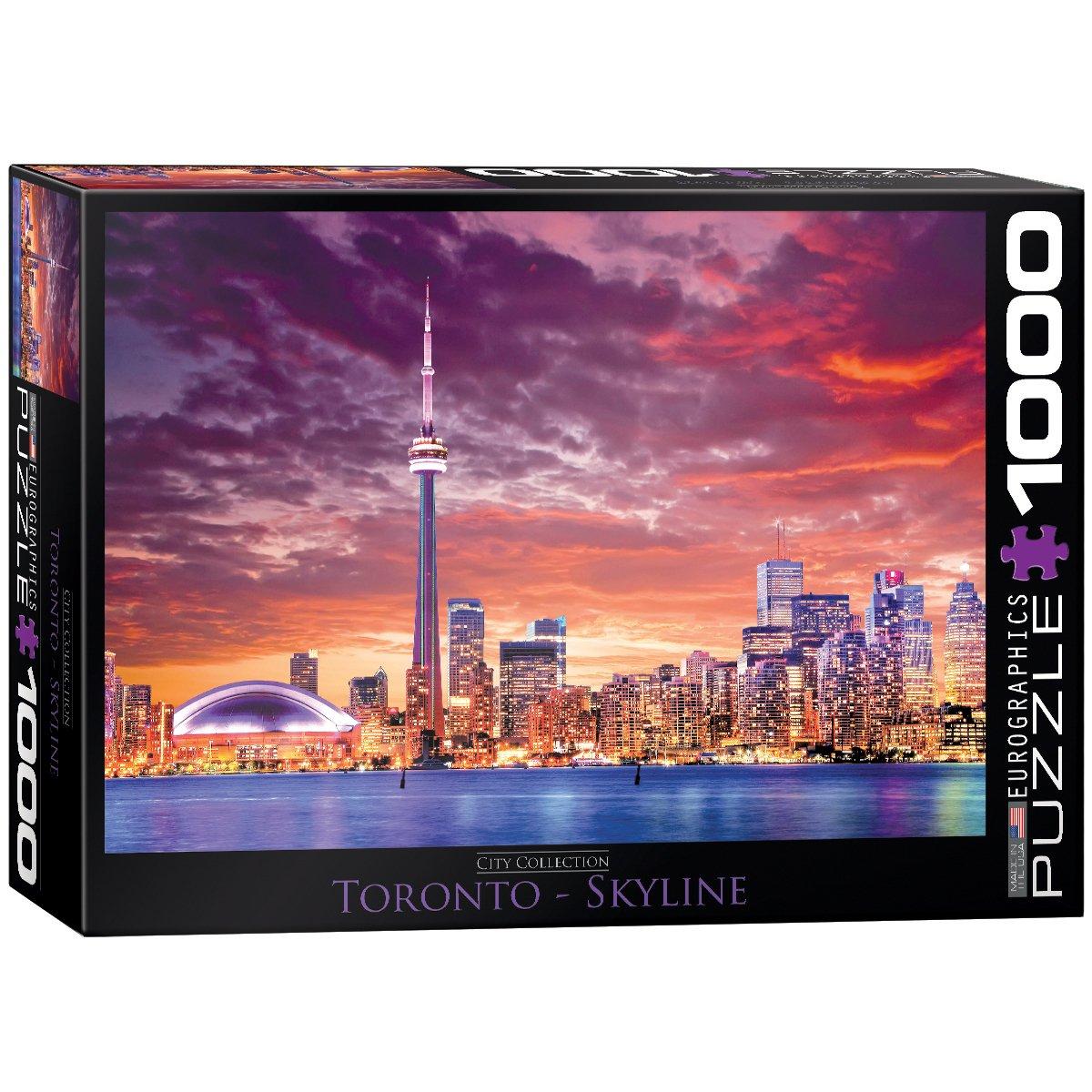 Eurographics Toronto Jigsaw Puzzle (1000-Piece) Eurographics - Toys 6000-0738