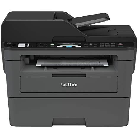 Brother Monochrome Laser Printer, Compact All-In One Printer, Multifunction  Printer, MFCL2710DW, Wireless Networking and Duplex Printing, Amazon Dash