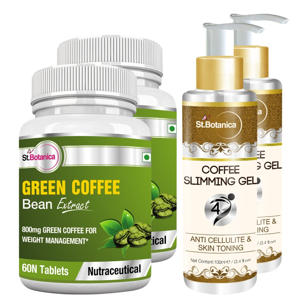 Buy Stbotanica 4d Coffee Slimming Cream 100 Ml Green Coffee Bean