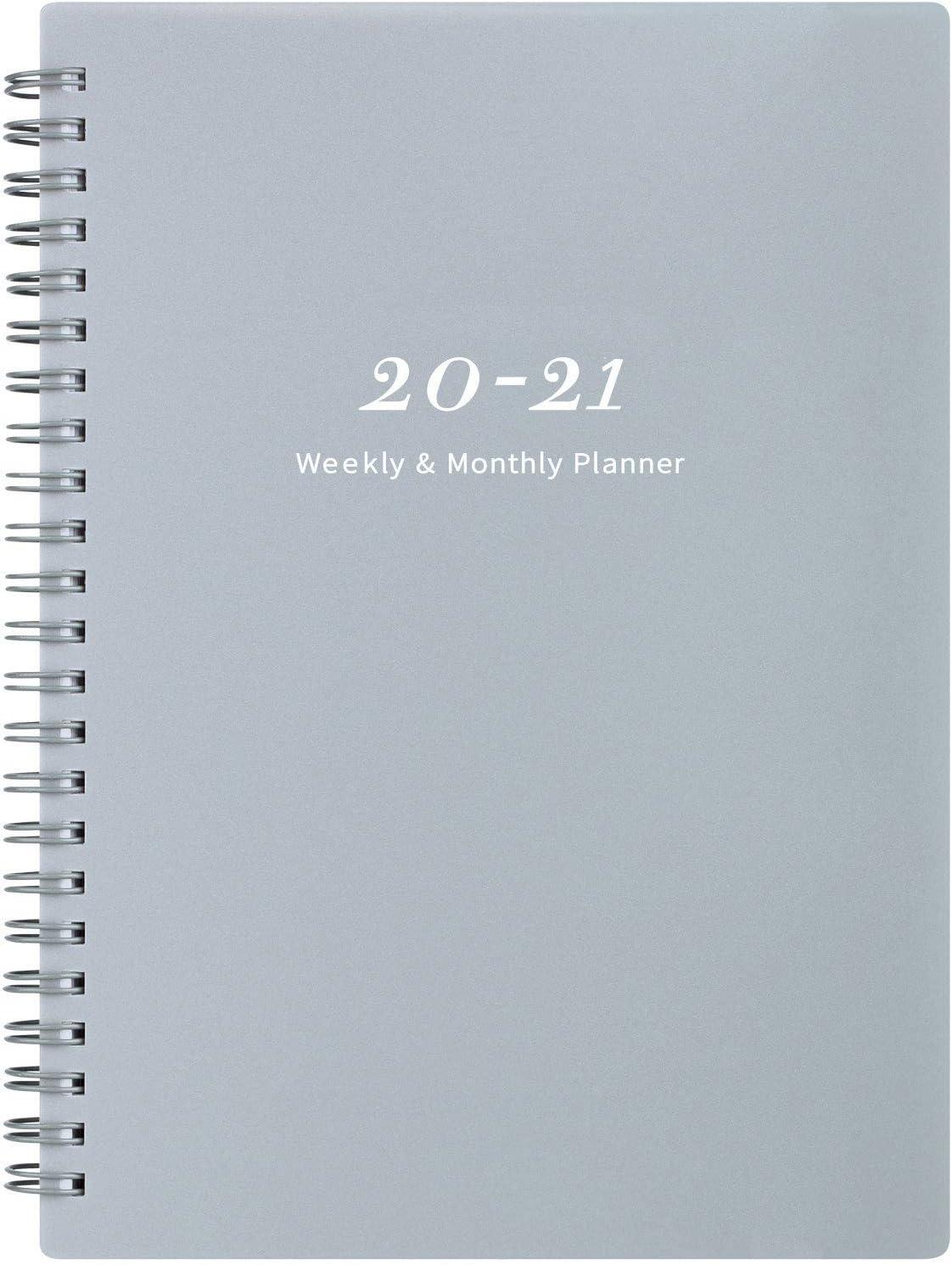 Planificador 2020-2021: planificador semanal y mensual(7SJC)