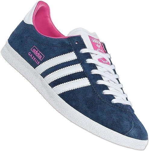 adidas Originals Gazelle OG w v25020 Women's Sneakers - Blue (Navy ...
