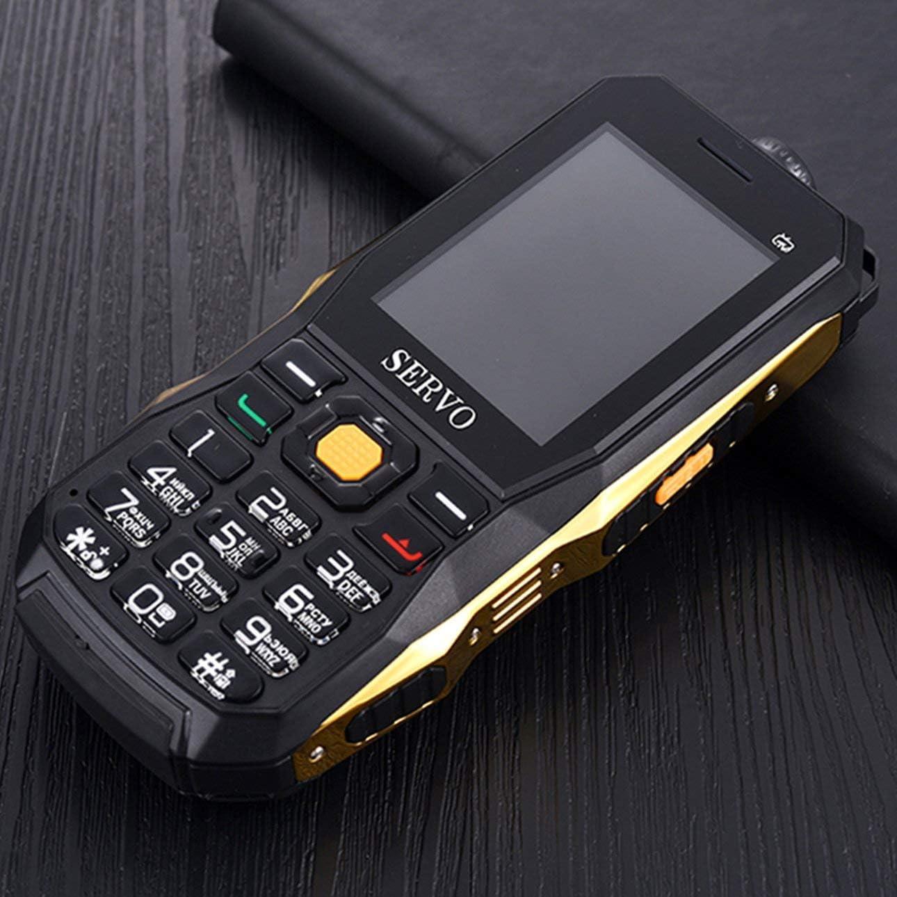SERVO20 Teléfono Móvil 3 Tarjetas SIM 2.4