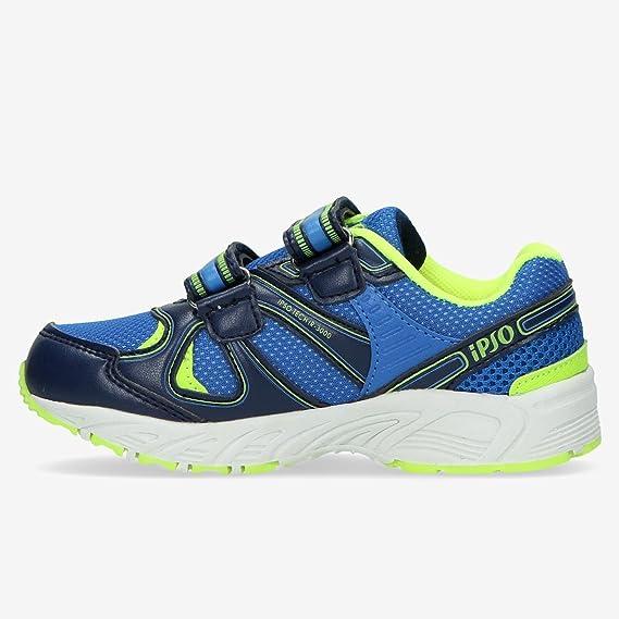Zapatillas Running IPSO TECH 3000 Azul Niño (22-27) (Talla: 27 ...