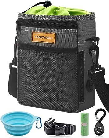 Amazon.com: FANCYDELI Bolsa de entrenamiento para perros ...