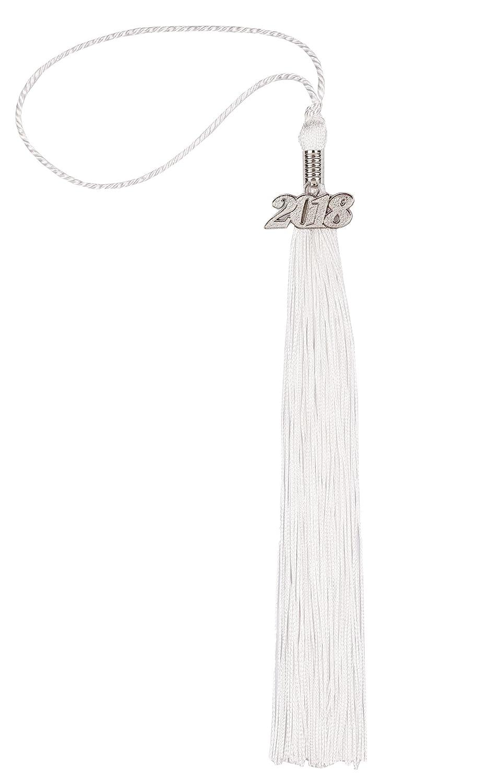 UIALECG ACCESSORY ユニセックスアダルト  White+silver Year Charm B079JVW74L