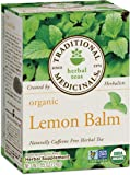 Traditional Medicinals Organic Lemon Balm Tea, 16 Tea Bags