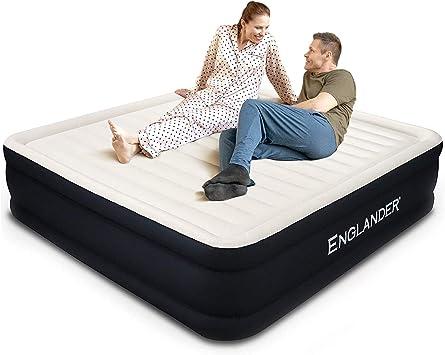 Amazon.com: Colchón de aire de microfibra Englander First ...
